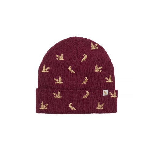 CHEVALIER müts Penny Wine Red