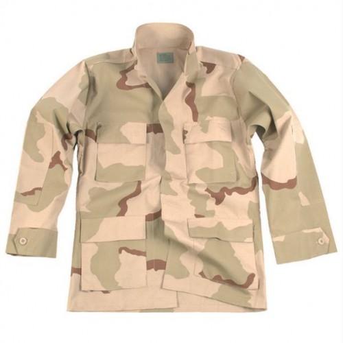 MIL-TEC US BDU välivormi jakk R/S 3-Color Desert