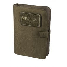 MIL-TEC Tactical märkmik kaanega oliv