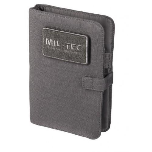 MIL-TEC Tactical märkmik kaanega Urban Grey