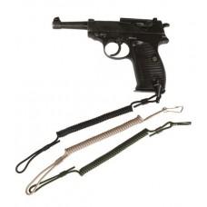 MIL-TEC püstoli spiraalpael must