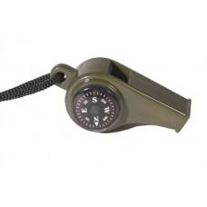 MIL-TEC plastikvile kompassi ja termomeetriga
