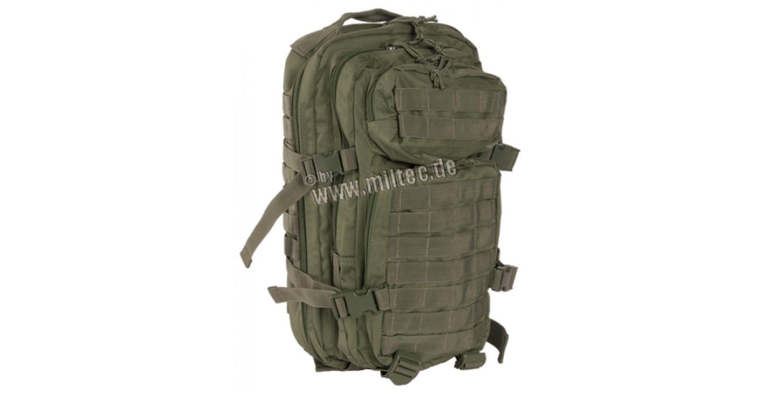dea3b63e6ab MIL-TEC seljakott US Assault Pack 20 L Oliv