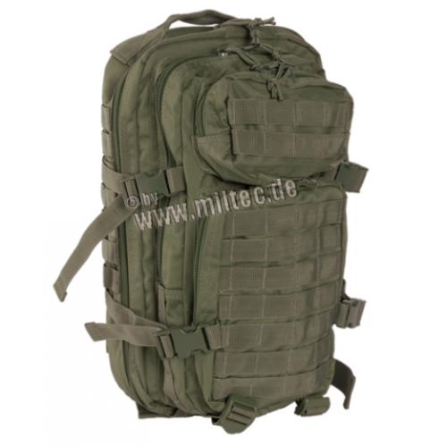 MIL-TEC seljakott US Assault Pack 20 L Oliv