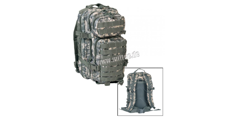 0a74115065b MIL-TEC seljakott US Assault Pack 20 L AT-Digital