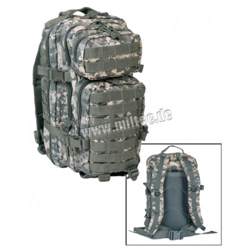 MIL-TEC seljakott US Assault Pack 20 L AT-Digital