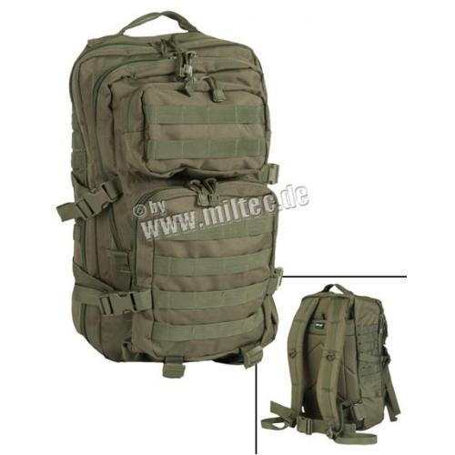 MIL-TEC seljakott US Assault Pack 36 L Oliv