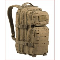 MIL-TEC seljakott US Laser Cut Assault Pack 20 L Coyote