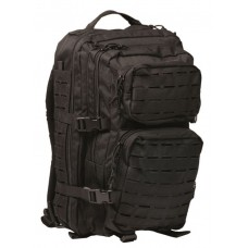 MIL-TEC seljakott US Laser Cut Assault Pack 36 L Must