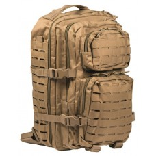 MIL-TEC seljakott US Laser Cut Assault Pack 36 L Coyote