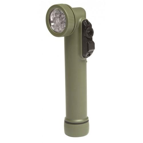 MIL-TEC 6 LED-nurklamp Oliv