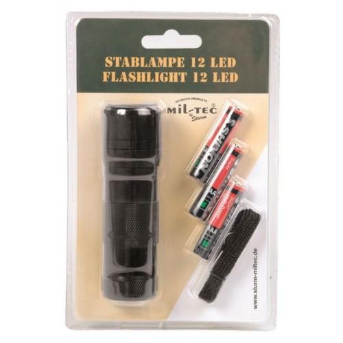 MIL-TEC taskulamp 12 LED