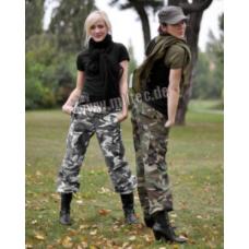 MIL-TEC US BDU välivormi püksid Woman R/S Prewash Woodland