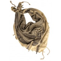 MIL-TEC tolmusall Shemagh khaki/must