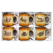 6-osaline kohvikruuside komplekt