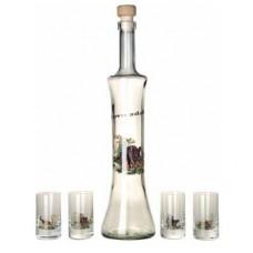 7-osaline komplekt (pudel + pitsid)