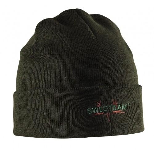 SWEDTEAM kootud müts Green