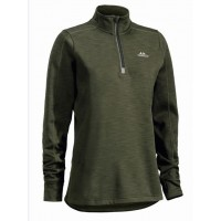 SWEDTEAM fliissviiter Ultra Light Zip Green Lady